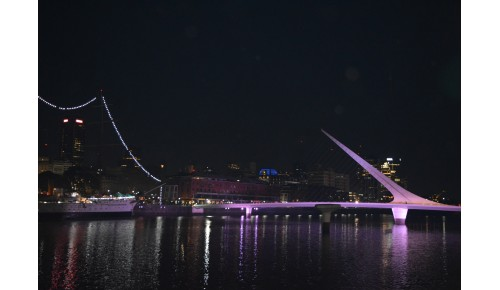 Puente 1 - Puerto Madero, Bs. As. - 2018 - Fotografía Digital
